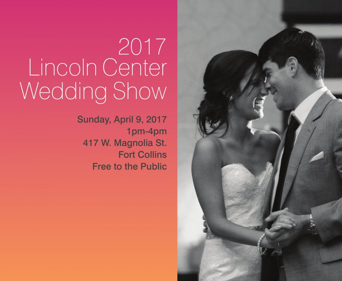 The Lincoln Center Wedding Show Is Coming Up!
