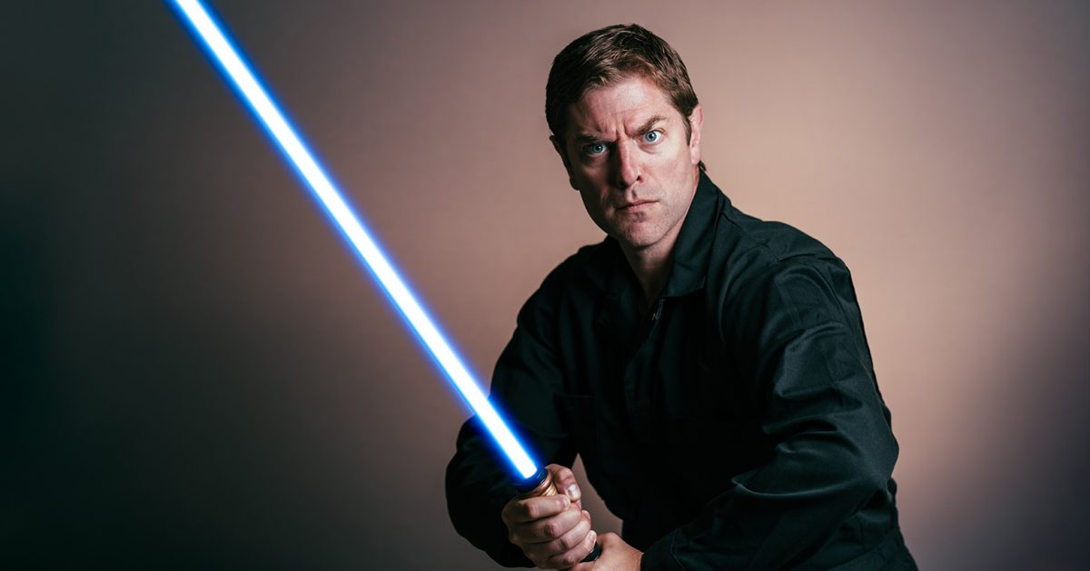 One Man Brings 46 Star Wars Characters to Life