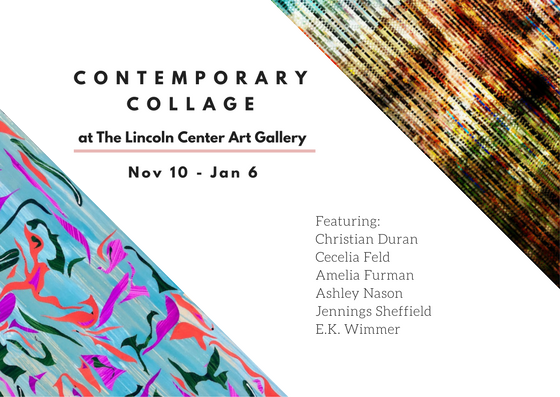 Contemporary Collage in the Gallery