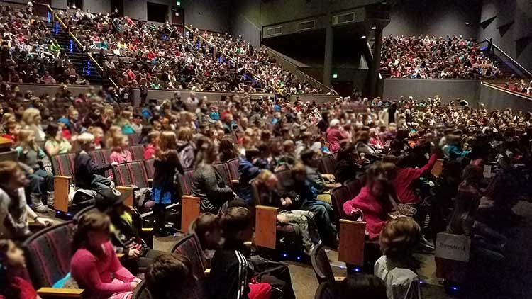 Arts Education Outreach Breaks Records