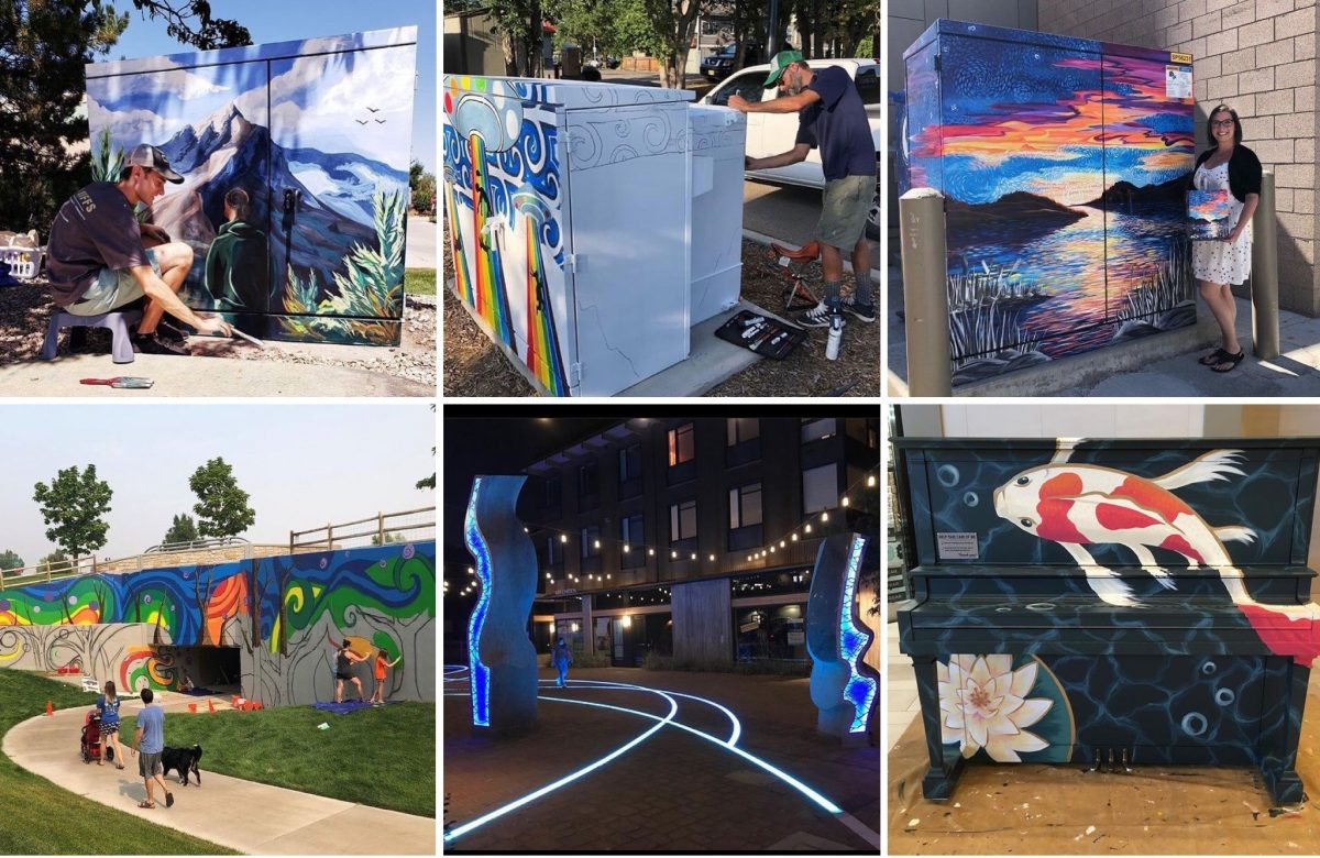 Art in Public Places Celebrates the Addition of 60 New Art Projects in 2020!